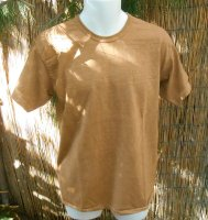 """CLEAN DIRT SHIRT"" Basic Organic Tee Shirt"