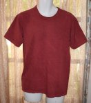 Basic Organic Tee in Red River