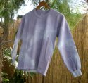 Long Sleeve Basic Tee Tie-Dyed Youth Large
