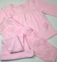 Pink Fairy Swing Top & Pants Set Size 3-6 Months