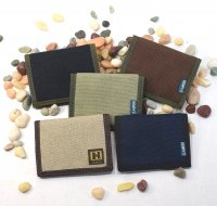 Hemp Bi-fold Wallet Plain