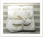 Organic Cotton Towel Set - Natural