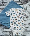Baby Bodysuit - Under the Sea Print