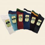 Maggie's Cotton Crew Socks Tri-Color 3-Pack 98% Organic