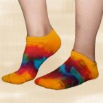 Youth Tie-Dye Footie Socks