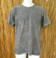 Basic Tee in Gray Stone