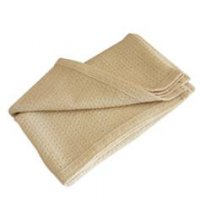 Crepe Weave Organic Cotton Blanket - Full/Queen - Natural