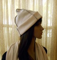 Organic Cotton Rib Knit Roll Up Hat