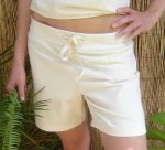 Organic Cotton Drawstring Shorts