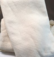 Crepe Weave Organic Cotton Blanket - Full - Natural