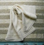 Organic Cotton Hand Towel - Natural