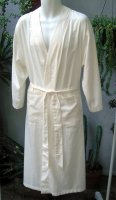 Organic Sateen Adult Size Robe