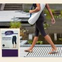 Organic Capri Leggings - Eggplant/Medium
