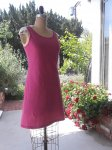 Soft & Light Fuchsia Sleep Dress