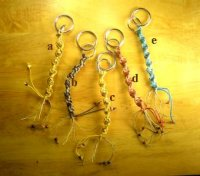 Organic Fair-Trade Hemp Key Chains