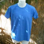 Basic Organic Tee in Prairie Blue