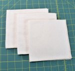 Organic Cotton Flannel HANKIES - Set of 3