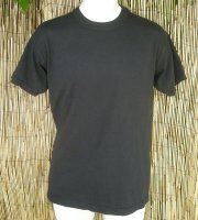 Basic Organic Tee in Black