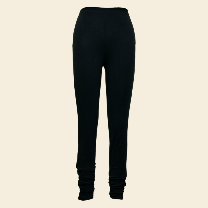 Organic Cotton Ruched Leggings - Click Image to Close