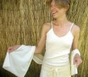 Fair-Trade Certified Organic Cotton Camisole - Natural