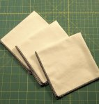 Vanilla Bean Hankies (sets of 3)