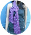 Striped Straight Scarf