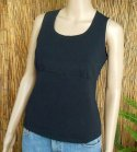 Cottonfield Organic Cotton Sleeveless Top - Black