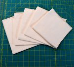 Organic Cotton Flannel HANKIES - Set of 5
