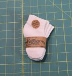 Discounted Organic Infant Athletic Crew Socks