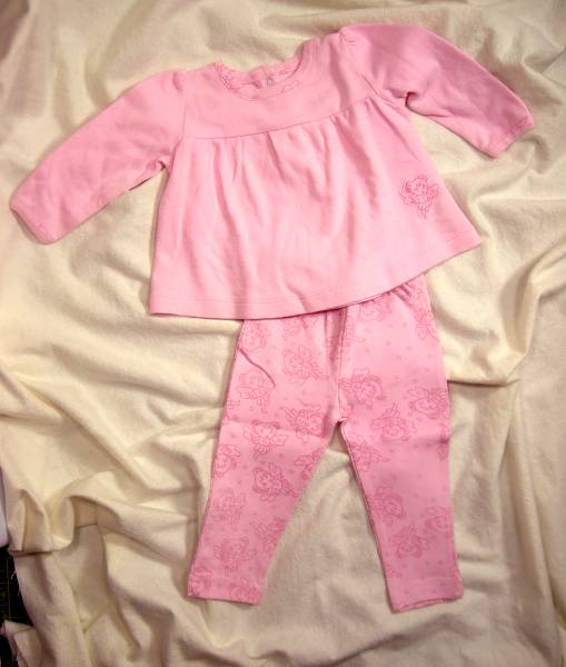 Pink Fairy Swing Top & Pants Set - Click Image to Close